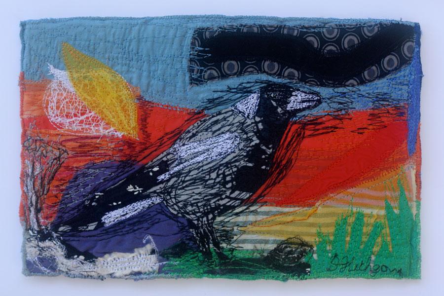 Bird Series No 3 Magpie